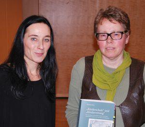 Dr. Elisabeth Malleier (rechts) und Dr. Gudrun Wolfgruber