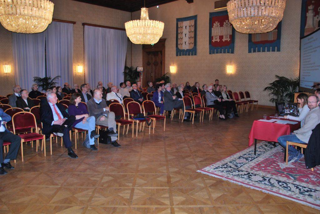 Die Vollversammlung im Wappensaal des Wiener Rathauses