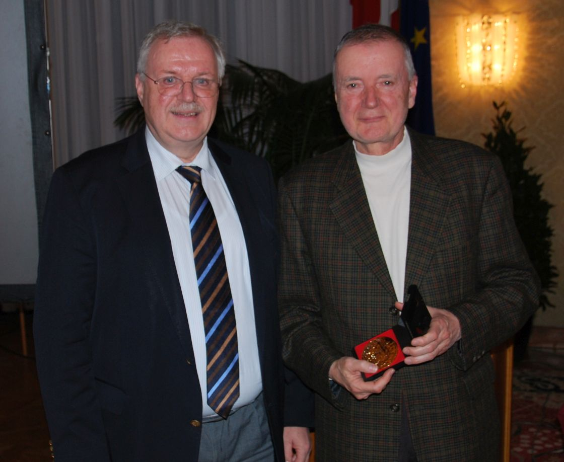 HR i.R. Dr. Hermann Steininger gehört unserem Verein bereits seit 50 Jahren an