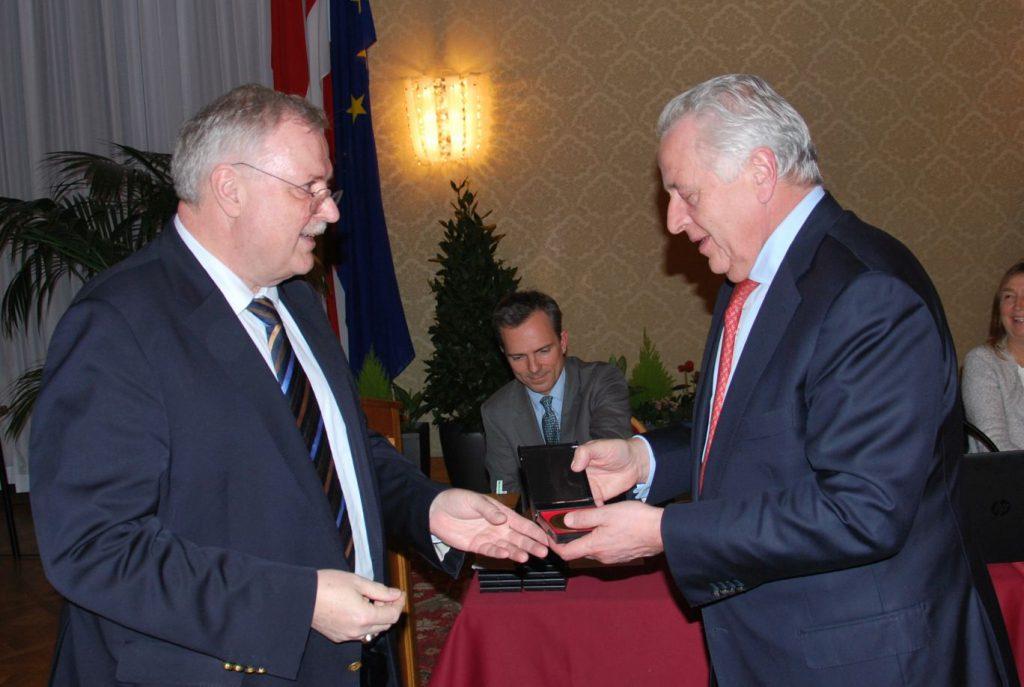 Minister a.D. Rudolf Hundstorfer ist seit 25 Jahren Mitglied des Vereins für Geschichte der Stadt Wien