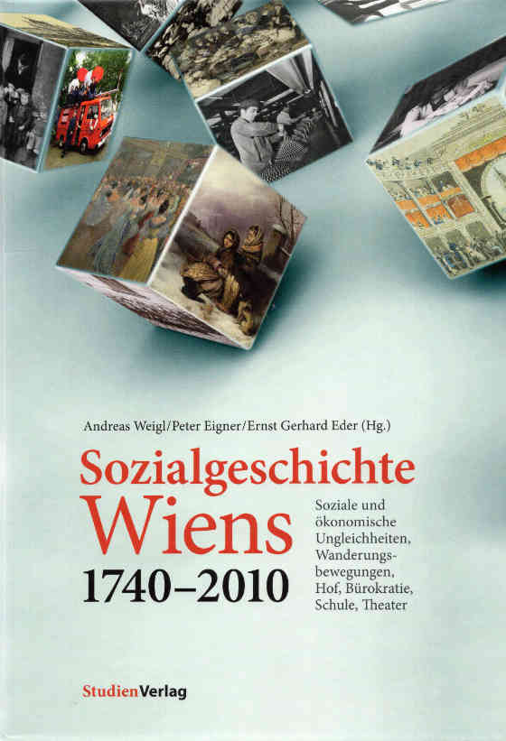 Titelblatt der Sozialgeschichte Wiens 1740-2010