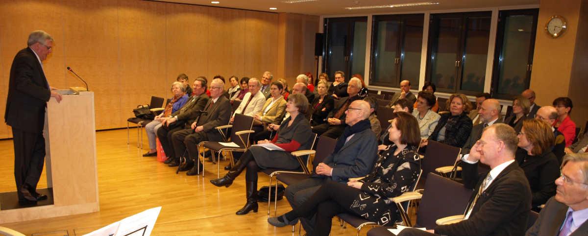 Audiorium Im Vortragssaal des Wiener Stadt- und Landesarchivs