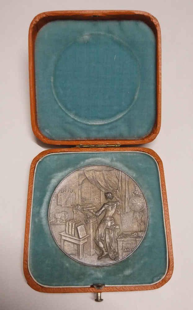Medaille zum 50jährigen Vereinsjubiläum, 1903 (WStLA, Verein für Geschichte der Stadt Wien, R1)