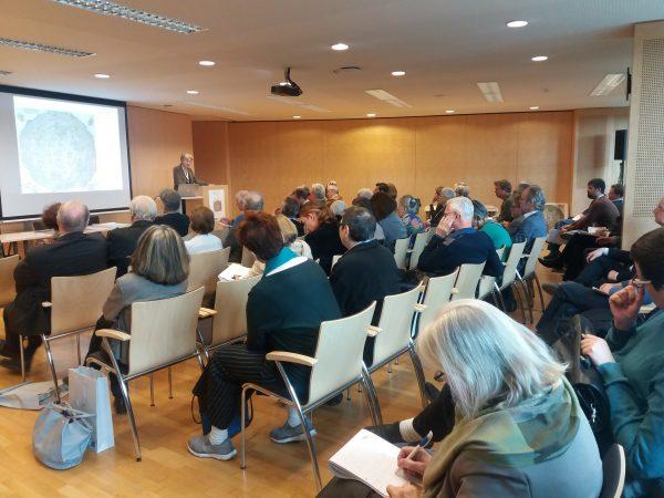Univ.-Prof.in Dr.in Martina Stercken bei ihrem Vortrag (Foto: Susanne Claudine Pils)