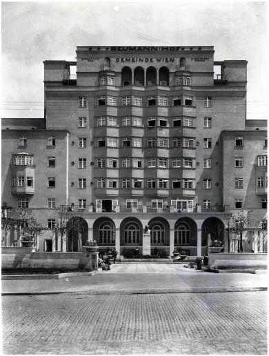 5., Margaretengürtel 100-110 (Reumannhof), 1926 (Wiener Stadt- und Landesarchiv, Fotoarchiv Gerlach, FC1: 00300M (Foto: Wiener Stadt- und Landesarchiv)
