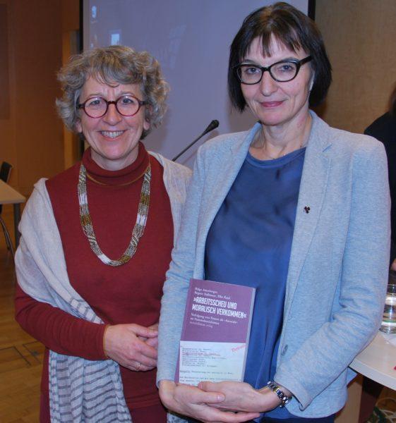 Dr.in Helga Amesberger und Dr.in Brigitte Halbmayr