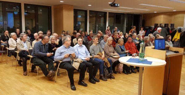 Rund 80 ZuhörerInnen hörten den Ausführungen von Dr. La Speranza zu (Foto: Christian Michlits)