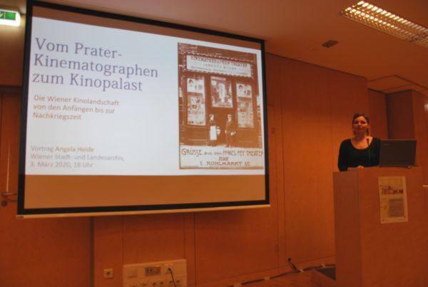 Vortrag von Dr.in Angela Heide (Foto: Alfred Paleczny)