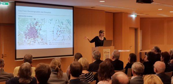Vortrag von Dr.in Angela Heide (Foto: Christian Michlits)