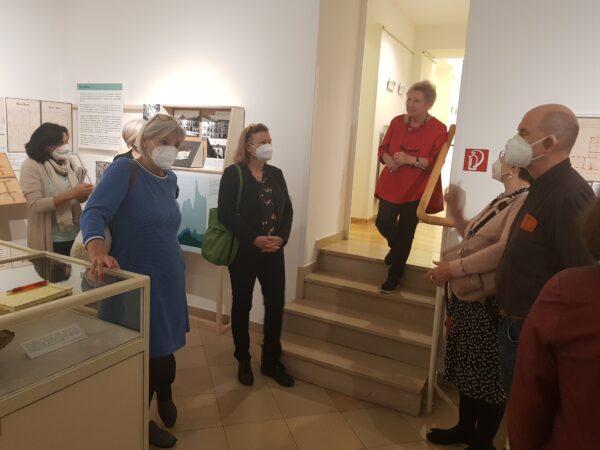 Begrüßung durch Museumsleiterin Maria Ettl und Dr.in Brigitte Rigele